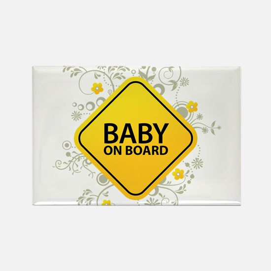 Cool Baby Rectangle Magnet