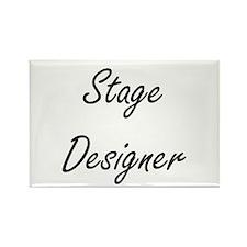 Stage Designer Artistic Job Design Magnets