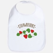 Strawberries Bib