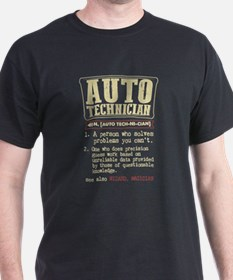 Auto Technician Funny Dictionary Term T-Shirt