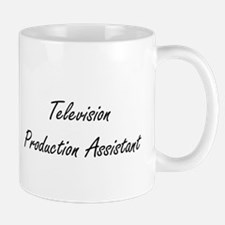 Television Production Assistant Artistic Job Mugs