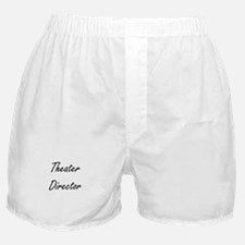 Theater Director Artistic Job Design Boxer Shorts