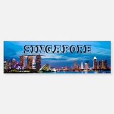 Singapore Bumper Bumper Sticker
