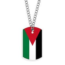 Jordan Flag Dog Tags