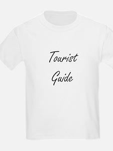 Tourist Guide Artistic Job Design T-Shirt