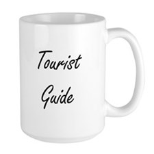 Tourist Guide Artistic Job Design Mugs