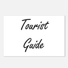 Tourist Guide Artistic Jo Postcards (Package of 8)