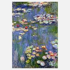 Cool Monet water lilies Wall Art