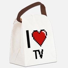 Cute Tube station Canvas Lunch Bag