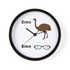 Emu Emo Wall Clock