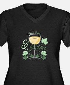 Kick Back And Relax Plus Size T-Shirt