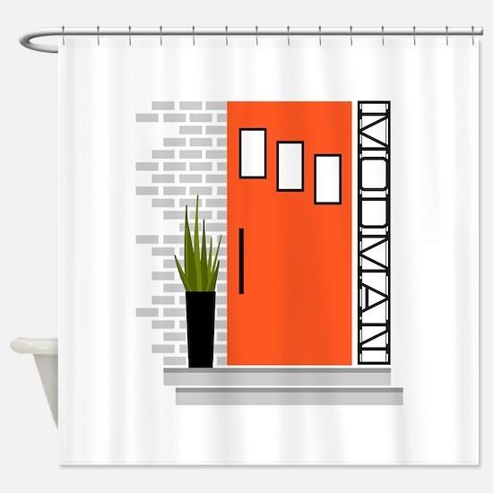 Mod MAn Shower Curtain