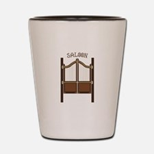 Saloon Doors Shot Glass
