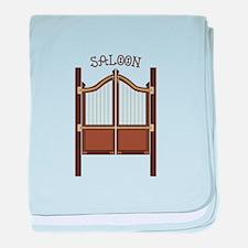 Saloon Doors baby blanket