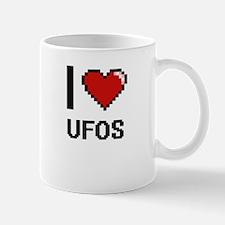 I love Ufos digital design Mugs