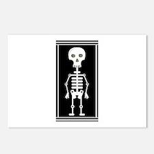 Skeleton Postcards (Package of 8)