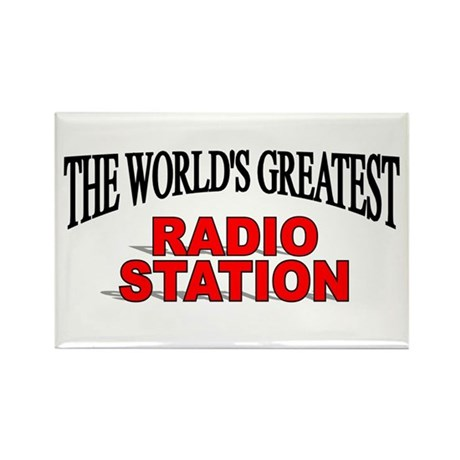"""The World's Greatest Radio Station"" Rectangle Mag"