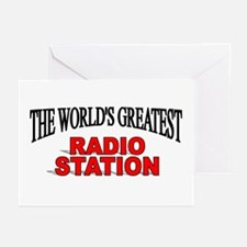 """The World's Greatest Radio Station"" Greeting Card"