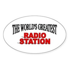 """""""The World's Greatest Radio Station"""" Decal"""