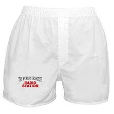 """The World's Greatest Radio Station"" Boxer Shorts"
