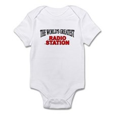 """The World's Greatest Radio Station"" Infant Bodysu"