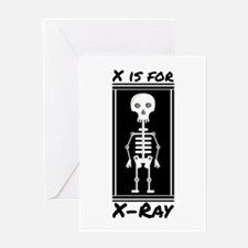 X For X-ray Greeting Cards