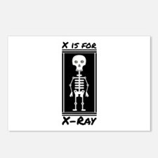 X For X-ray Postcards (Package of 8)
