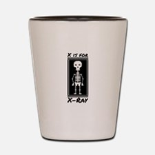 X For X-ray Shot Glass