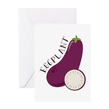 Eggplants Greeting Cards