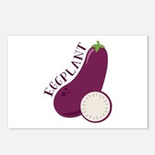 Eggplants Postcards (Package of 8)
