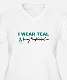 I Wear Teal For My Daughter-In-Law 2 T-Shirt