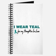 I Wear Teal For My Daughter-In-Law 2 Journal