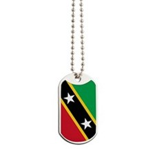 St Kitts Nevis Flag Dog Tags