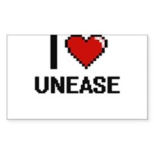 I love Unease digital design Decal