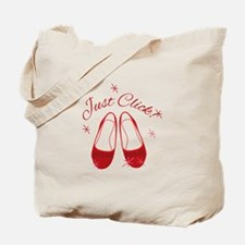 Just Click Slippers Tote Bag