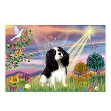 Cloud Angel & Cavalier King C Postcards (Package o