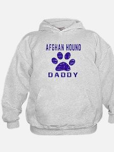 Afghan Hound Daddy Designs Hoodie