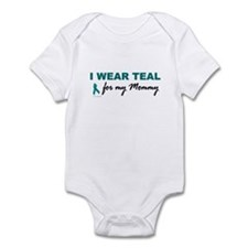 I Wear Teal For My Mommy 2 Onesie