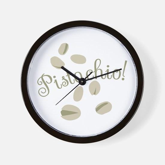 Pistachio Nuts Wall Clock