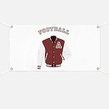 Football Jacket Banner