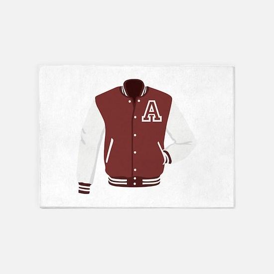 Varsity Jacket 5'x7'Area Rug