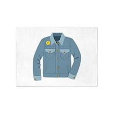 Denim Jacket 5'x7'Area Rug