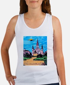 Unique Alien invasion Women's Tank Top