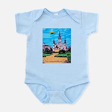 Cute Alien invasion Infant Bodysuit