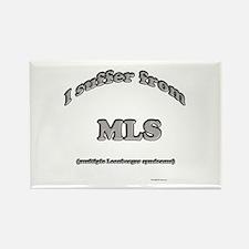 Leonberger Syndrome Rectangle Magnet
