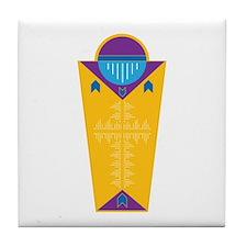 Funny Native american religions Tile Coaster