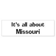 About Missouri Bumper Bumper Sticker