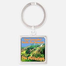 Visit Corregidor Pacific War Memor Square Keychain