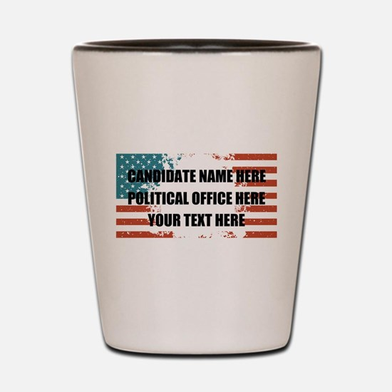 Personalized USA President Shot Glass