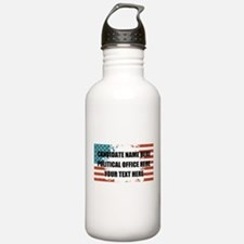Personalized USA Presi Water Bottle